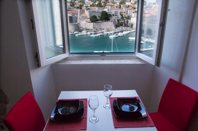Studio apartment in Dubrovnik Old Town above Old Port